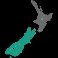 Kaart Queenstown Nieuw Zeeland