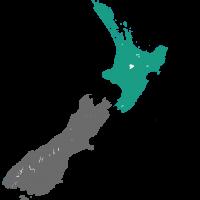 Kaart Wellington Nieuw Zeeland