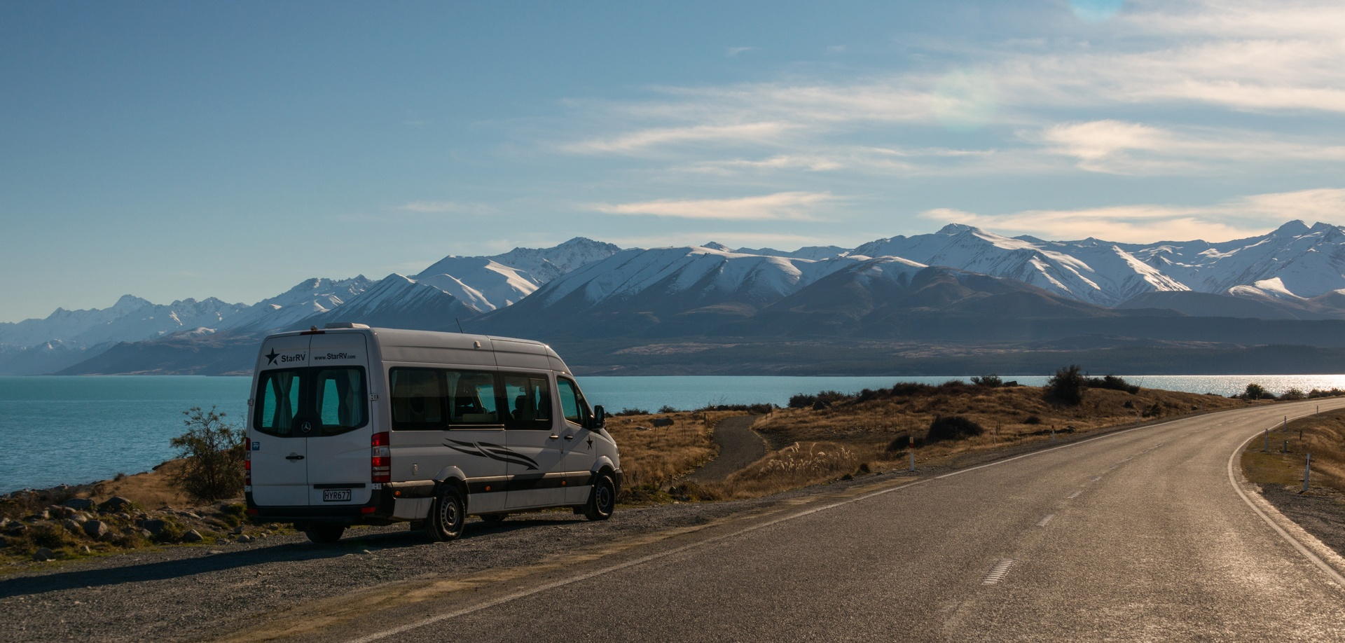 Campers huren Nieuw Zeeland