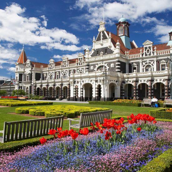 Trein station, Dunedin nieuw zeeland
