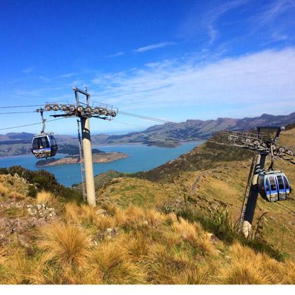 Christchurch Gondola Nieuw Zeeland