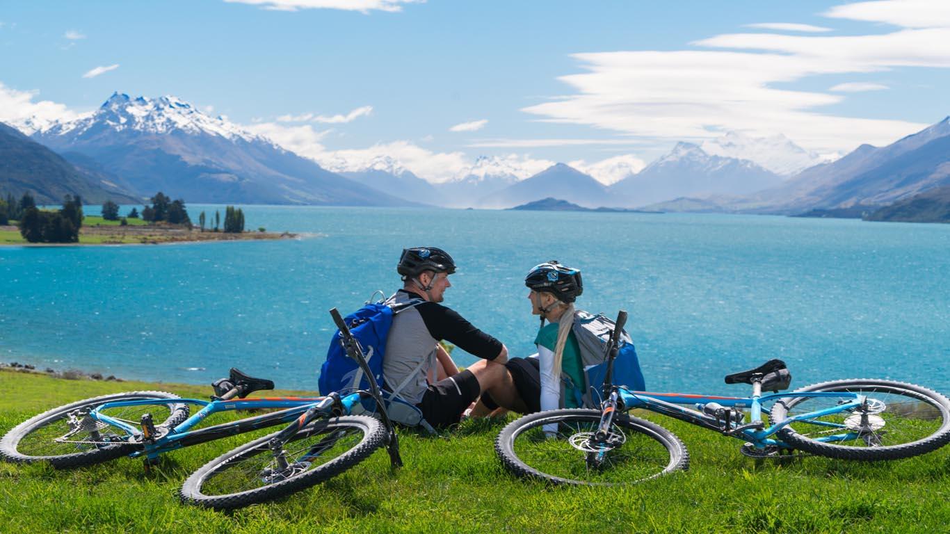 Lake Wakatipu fietsen