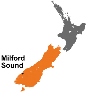 Milford Sound Nieuw Zeeland