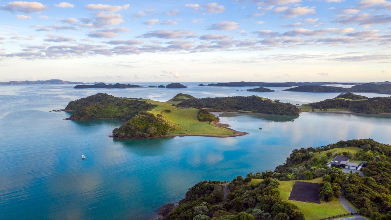 Bay of islands nieuw zeeland