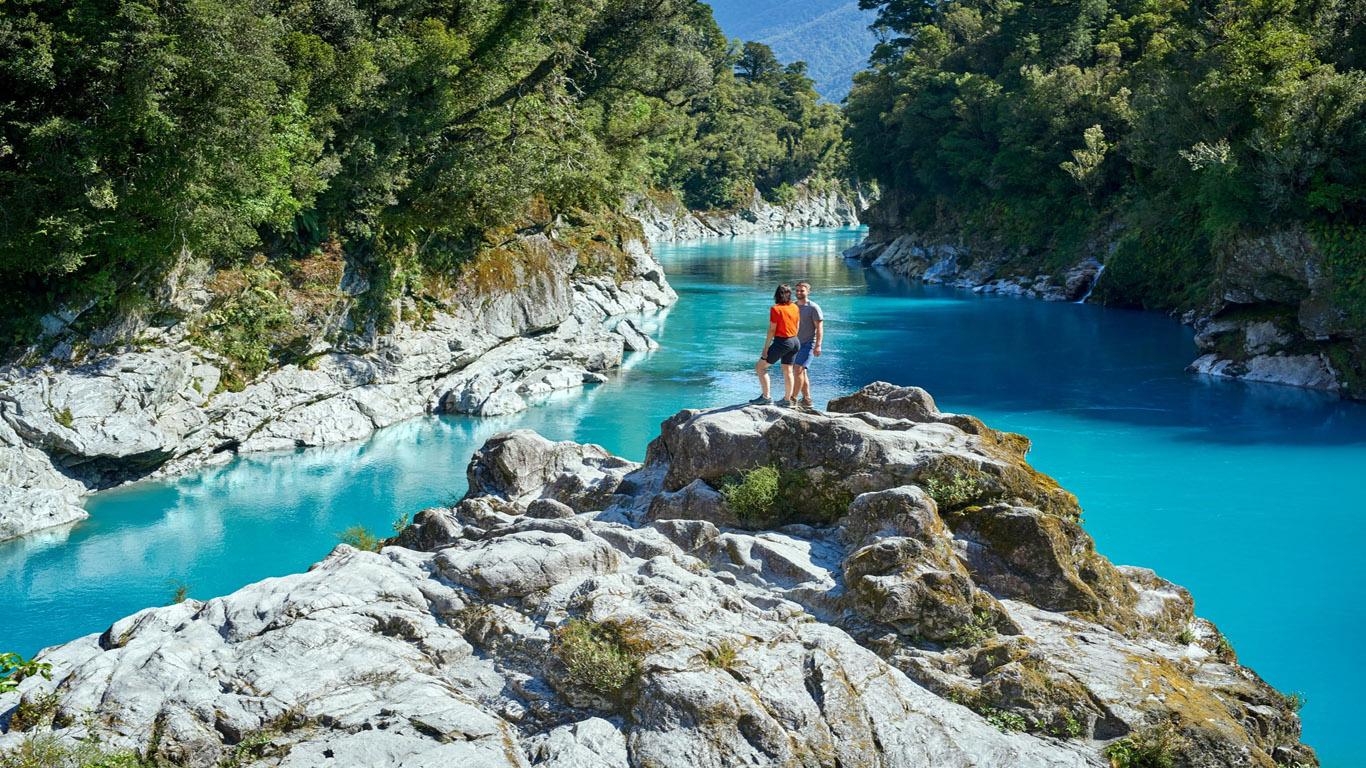 Hokitika Gorge Nieuw Zeeland