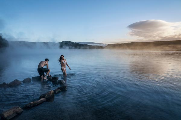 Warmwaterbronnen Rotorua