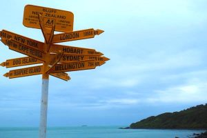 Stirling Point Nieuw Zeeland
